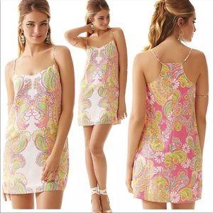 Lilly Pulitzer Dusk Strappy Slip Dress SZ XS